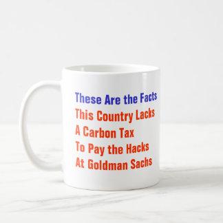 No Carbon Tax Basic White Mug