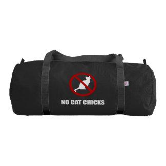 No Cat Chicks Gym Bag