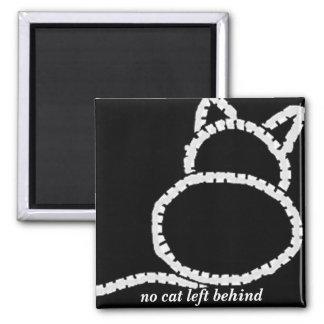 no cat left behind magnet