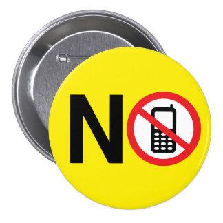 No Cell Phones Button