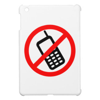 No Cell Phones iPad Mini Covers