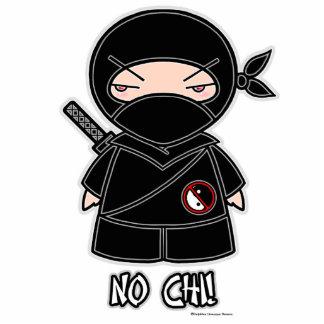 No Chi! Ninja Photo Sculpture