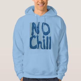 no chill hoodie light blue