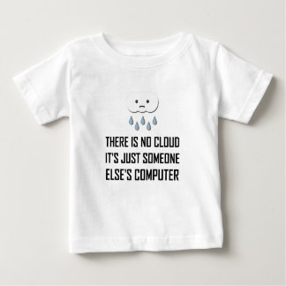 No Cloud Someone Else Computer Funny Baby T-Shirt