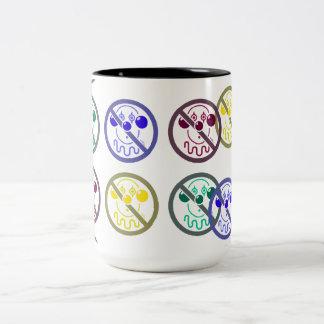 No Clowns - Tutti Frutti Two-Tone Mug