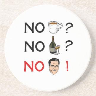 No Coffee No Alcohol No Romney.png Beverage Coasters