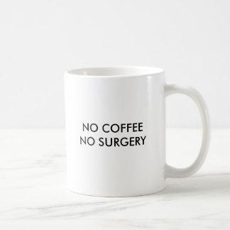 NO COFFEE NO SURGERY, NO COFFEE NO SURGERY COFFEE MUG