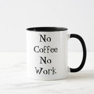 No Coffee No Work Mug