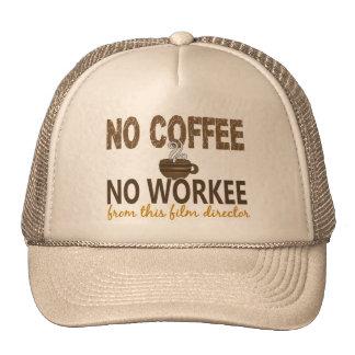 No Coffee No Workee Film Director Trucker Hat
