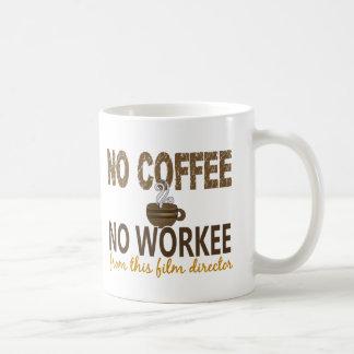 No Coffee No Workee Film Director Mugs