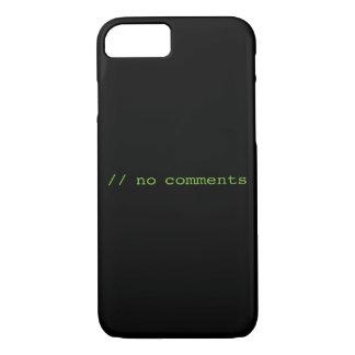 No comments iPhone 8/7 case