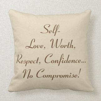 "No Compromise ""20x20"" Throw Pillow - P2"