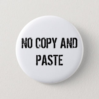 NO COPY PASTE BUTTON