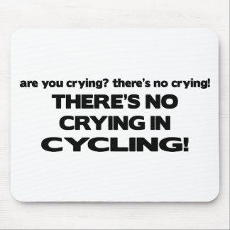 No Crying - Cycling Mousepad