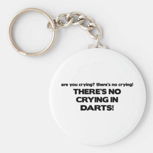No Crying - Darts Key Chains