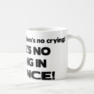 No Crying in Science Basic White Mug