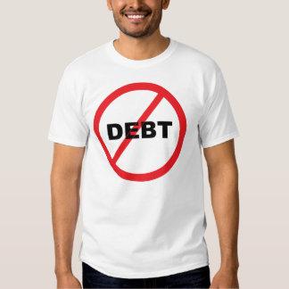 No Debt T-shirts