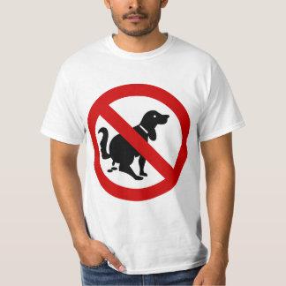 NO Dog Fouling ⚠ Thai Sign ⚠ T Shirts