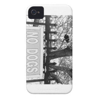 No Dogs iPhone 4 Case