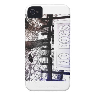 No Dogs iPhone 4 Cases