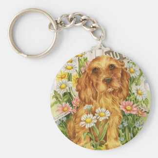 No dogs! key ring