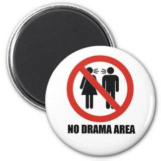 No Drama Area Magnet