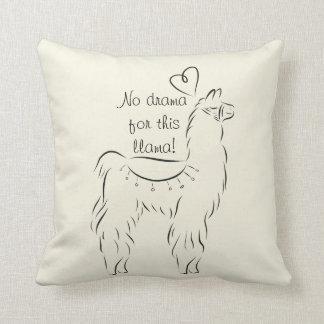 No Drama for this Llama Cushion