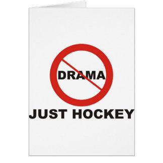 No Drama Just Hockey Card