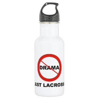 No Drama Just Lacrosse 532 Ml Water Bottle