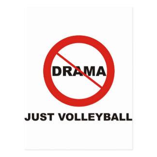 No Drama Just Volleyball Postcard