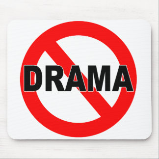 No Drama (Mousepad) Mouse Pad