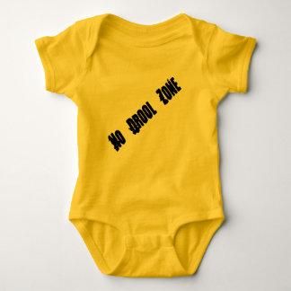 No Drool Zone Body Suit Baby Bodysuit