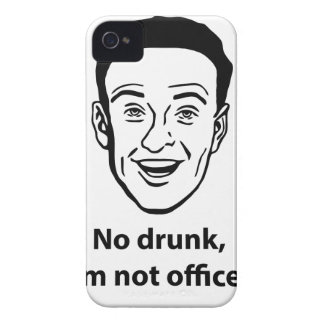 No drunk, i'm not officer. Case-Mate iPhone 4 case