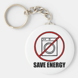 No Dryers SAVE ENERGY Key Ring