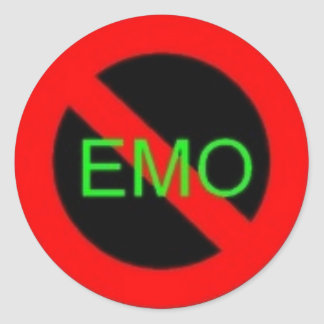 no emoz plz sticker