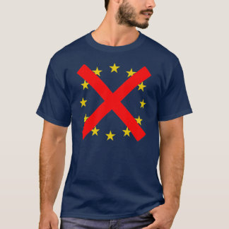 NO European Union T-Shirt