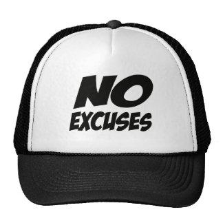 No Excuses! Cap