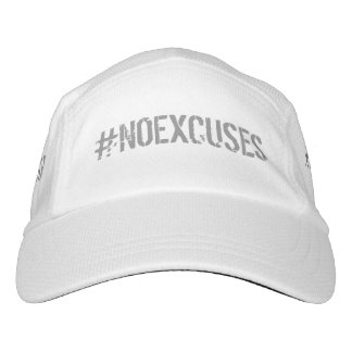 No Excuses Motivational #NOEXCUSES GYM Hat