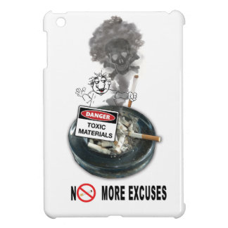 NO EXCUSES Stop Smoking Case For The iPad Mini
