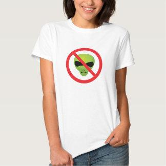 No Extraterrestrials Shirt