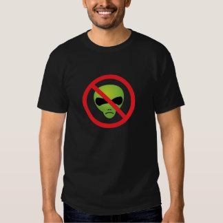 No Extraterrestrials T-shirt