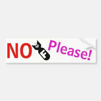 No F-Bomb Please! sticker