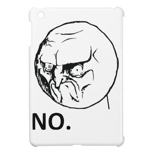 NO! face iPad Mini Cases