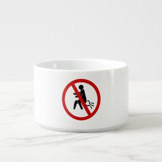 NO Farting ⚠ Funny Thai Toilet Sign ⚠ Chili Bowl