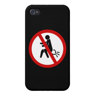 NO Farting ⚠ Funny Thai Toilet Sign ⚠ iPhone 4/4S Case