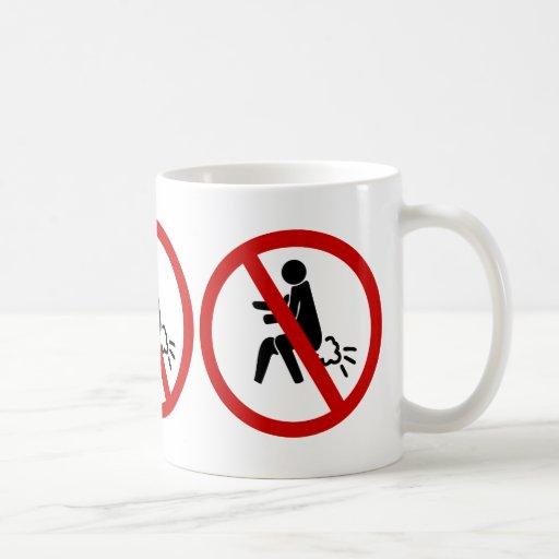 NO Farting ⚠ Funny Thai Toilet Sign ⚠ Mugs