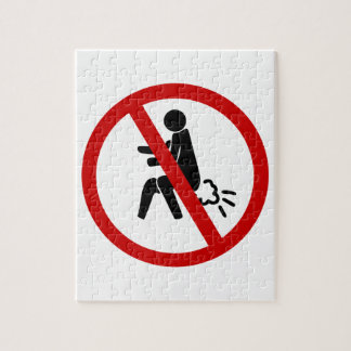 NO Farting ⚠ Funny Thai Toilet Sign ⚠ Puzzle