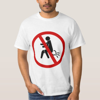 NO Farting ⚠ Funny Thai Toilet Sign ⚠ T-shirts