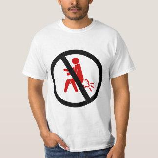 NO Farting ⚠ Funny Thai Toilet Sign ⚠ Tee Shirt