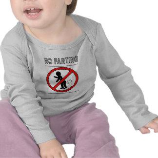 NO FARTING Warning Sign T Shirt